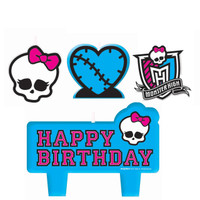 Monster High Mini Molded Candles