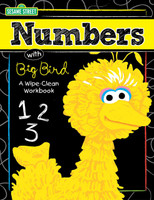 Sesame Street - Fun with Numbers Write On Wipe Off Book