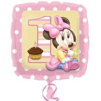 Disney Minnie Mouse 1st Birthday Foil Balloon