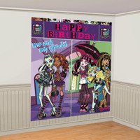 Monster High Wall Decorating Kit