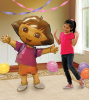 Dora The Explorer Airwalker Foil Balloon