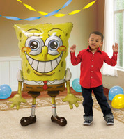 Spongebob Airwalker Foil Balloon