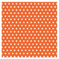Orange with Jumbo Polka Dots Gift Wrap 16ft