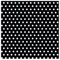 Black with Jumbo Polka Dots Gift Wrap 16ft