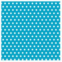 Caribbean with Jumbo Polka Dots Gift Wrap 16ft