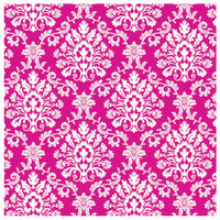 Bright Pink Brocade Jumbo Gift Wrap 16ft