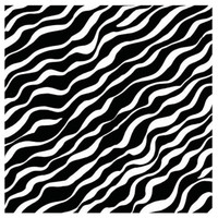 Black Zebra Jumbo Gift Wrap 16ft