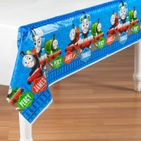 Thomas the Tank Plastic Tablecover
