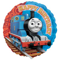 Thomas the Tank Happy Birthday Foil Balloon