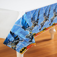 Batman Heroes and Villains Plastic Tablecover