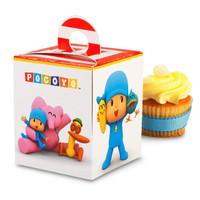 Pocoyo Cupcake Boxes