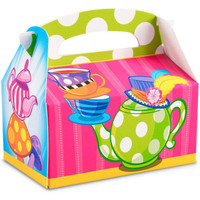 Topsy Turvy Tea Party Empty Favor Boxes