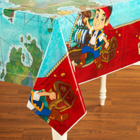 Disney Jake and the Never Land Pirates Plastic Tablecover