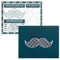 Little Man Mustache Activity Placemats