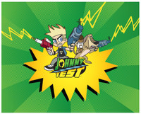 Johnny Test Activity Placemats