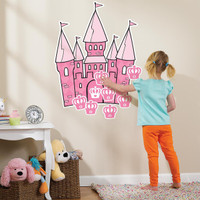 Stick the Princess Crown on the Castle Game