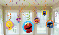 Sesame Street Hanging Swirl Value Pack