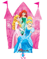 Disney Princess Castle Jumbo Foil Balloon