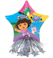 Dora Birthday Star Balloon Centerpiece