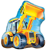 Construction Loader Jumbo Foil Balloon