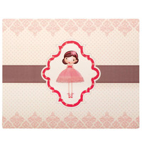 Ballerina Tutu Activity Placemats