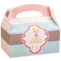 Ballerina Tutu Empty Favor Boxes
