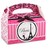 Paris Damask Empty Favor Boxes