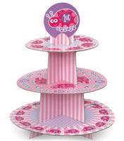 1st Birthday Ladybug Cupcake Stand