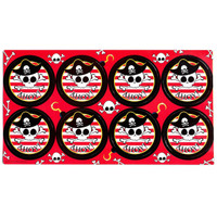 Pirates Large Lollipop Sticker Sheet