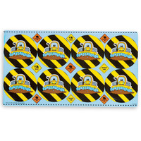 Construction Pals Small Lollipop Sticker Sheet