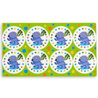 Dinosaurs Small Lollipop Sticker Sheet