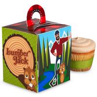 LumberJack Cupcake Boxes