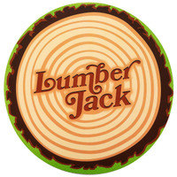 LumberJack Round Activity Placemats