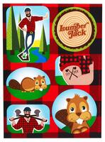 LumberJack Sticker Sheets