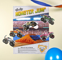"Monster Jam 3D ""Stick the X"" Game"