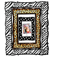 Animal Print Frames Photo Prop