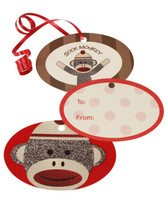 Sock Monkey Gift Tags