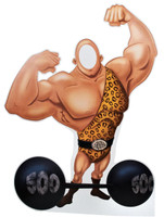 Carnival Strong Man with Barbell Stand-In