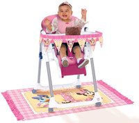 Disney Minnie 1st High Chair Decorating Kit