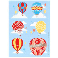 Up, Up and Away Sticker Sheets