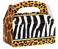Safari Adventure Party Empty Favor Boxes