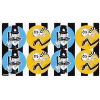 Cops and Robbers Party Large Lollipop Sticker Sheet