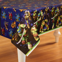 Nickelodeon Teenage Mutant Ninja Turtles Plastic Tablecover