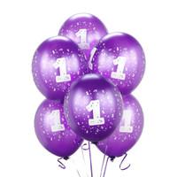 Purple #1 Balloons