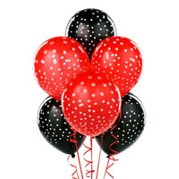 Printed Polka Dot Latex Balloons