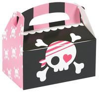 Pretty Pirates Party Empty Favor Boxes