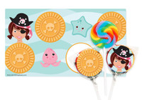 Pretty Pirates Party Small Lollipop Kit