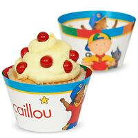 Caillou Reversible Cupcake Wrappers