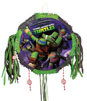 Teenage Mutant Ninja Turtles Drum Pull-String Pinata