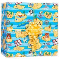 Pirate Gift Wrap Kit